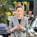 Rose Byrne out in Los Angeles