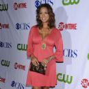 Eva LaRue - Jul 18 2008 - CW/CBS/Showtime/CBS Television TCA Party In Hollywood