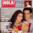 Itati Cantoral and Carlos Alberto Cruz - 370 x 484