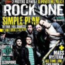 Chuck Comeau, David Desrosiers, Jeff Stinco, Pierre Bouvier, Sebastien Lefebvre - Rock One Magazine Cover [France] (June 2011)
