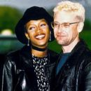 Naomi Campbell and Adam Clayton