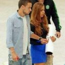 Liam Payne and Sophia at Heathrow Airport in London - 11.09.13