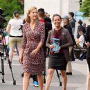 Lola Glaudini – Filming 'Ray Donovan' in New York - 454 x 575
