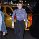 Gigi Hadid – Exiting SNL and arriving at after-party in NY