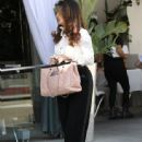Lisa Vanderpump is spotted having lunch at Villa Blanca in Beverly Hills, California on April 1, 2016 - 443 x 600