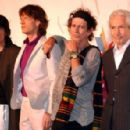 The Rolling Stones during the 'A Bigger Bang' press conference - 11 July 2006