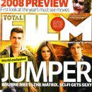Rachel Bilson, Jamie Bell, Hayden Christensen - Total Film Magazine Cover [United States] (February 2008)