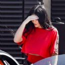 Kylie Jenner and Sofia Richie – Leaving Nobu after lunch in Malibu