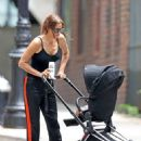 Irina Shayk with her baby out in NYC