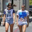Sofia Richie in Denim Shorts – Shopping in Beverly Hills