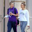 Jessica and Ashley Hart – Shopping in Soho - 454 x 681
