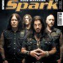 Robb Flynn, Phil Demmel (musician), jared macEachern, Dave McClain (drummer) - Spark Magazine Cover [Czech Republic] (November 2014)