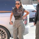 Kim Kardashian – Arrives at Emilio's Trattoria for lunch in Encino