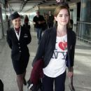 Emma Watson - Arrives At Heathrow Airport, 21. 9. 2009.