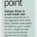Salman Khan (Filmfare - June 2011)