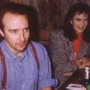 Annabel Giles and Midge Ure