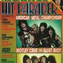Mötley Crüe - Hit Parader Magazine Cover [United States] (September 1984)