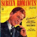 Mickey Rooney - Screen Romances Magazine Cover [United States] (April 1941)
