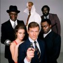 Promo of Roger Moore, Jane Seymour, Yaphet Kotto, Geoffrey Holder, Julius Harris, Earl Jolly Brown in Live And Let Die (1973) - 385 x 400