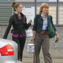 Kristin Kreuk and Allison Mack – Shopping in Vancouver - 454 x 558