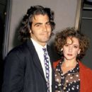 George Clooney and Talia Balsam