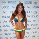 Arianny Celeste Wearing Bikini At 2014 Ufc Pool Party In Las Vegas