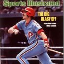 Mike Schmidt - Sports Illustrated Magazine Cover [United States] (3 May 1976)