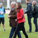 Prince William, Duchess Catherine and Harry visited London Marathon Day - 454 x 583