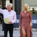 Holly Willoughby – Filming This Morning Outside ITV studios in London