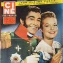 Romy Schneider - Cine Tele Revue Magazine Pictorial [France] (3 July 1959) - 454 x 595