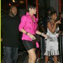 Rihanna - Chris Brown's 19 Birthday Party At Rebel NYC, May 14, 2008