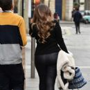 Kelly Brook leaving the Global Studios in London