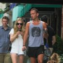 Amanda Seyfried and Desmond Harrington spotted out in New York City (August 27)