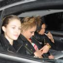 January 21st 2013 - Leaving Chanel Fashion Show in Paris - 454 x 317
