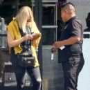 Ashley Benson in Black Ripped Jeans – Out in Los Angeles