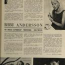 Bibi Andersson - Film Magazine Pictorial [Poland] (1 August 1965)