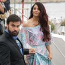 Aishwarya Rai on the Croisette in Cannes