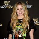Avril Lavigne – Westwood One Radio Roundtables in LA - 454 x 660