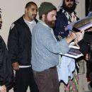 """Zach Galifianakis Drops By """"Jimmy Kimmel Live"""" - 454 x 726"""