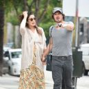 Nikki Reed with Ian Somerhalder out in Los Angeles - 454 x 658