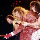 David Lee Roth, Michael Anthony, Eddie Van Halen