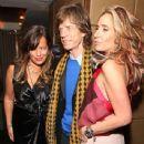 Tara Bernard & Jade Jagger Host Christmas Party - 438 x 594