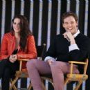 Kristen Stewart and Sam Claflin attend the 'MTV Movie Awards Sneak Peek Week' May 29, 2012