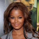 Claudia Jordan - Screen Gems' 'Takers' Premiere At Arclight Cinema Cinerama Dome On August 4, 2010 In Hollywood, California - 454 x 581