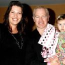 Neal McDonough and wife Ruvé Robertson smile with daughter Catherine 'Cate' Maggie