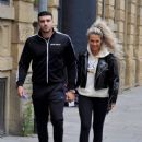 Molly Mae with Boyfriend Tommy Fury out in Manchester - 454 x 591