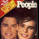 Princess Stephanie and Rob Lowe
