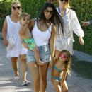 Kourtney Kardashian Spends Time With Her Kids In Miami, Florida on May 1, 2016