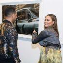 Chrissy Teigen – Nabil Elderkin Exhibition in Los Angeles