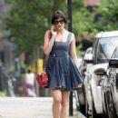 Daisy Lowe in Mini Dress – Out in London - 454 x 584